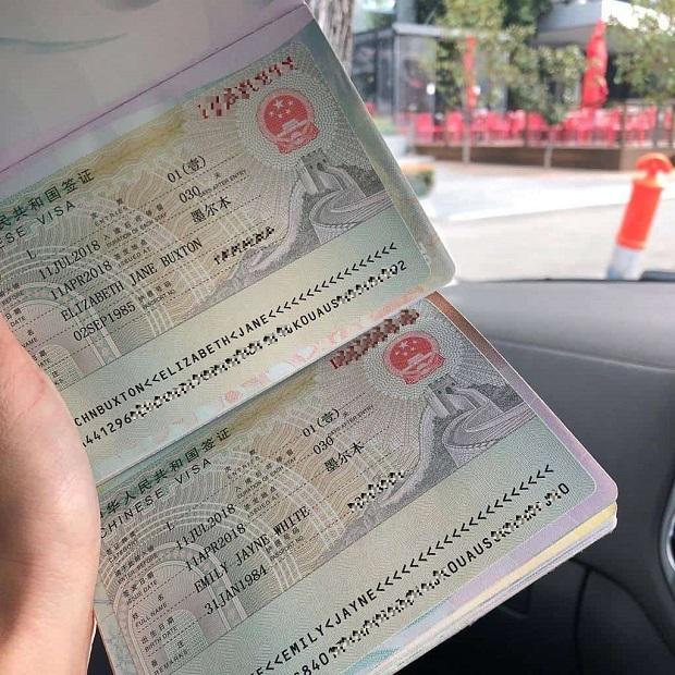 Xin visa Trung Quốc 1 năm nhiều lần