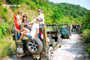 """Tour Đà Nẵng – Hành Trình Thú Vị Trải Nghiệm """"Jeep Tour"""" Sơn Trà"""
