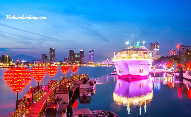 Cầu tình yêu Đà Nẵng - Du lịch đà nẵng 4 ngày 3 đêm