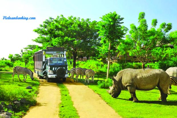 Safari Phú Quốc - tour du lịch phú quốc mùa hè 2019