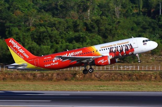 Vé máy bay từ Thái Lan về Việt Nam hãng Vietjet Air