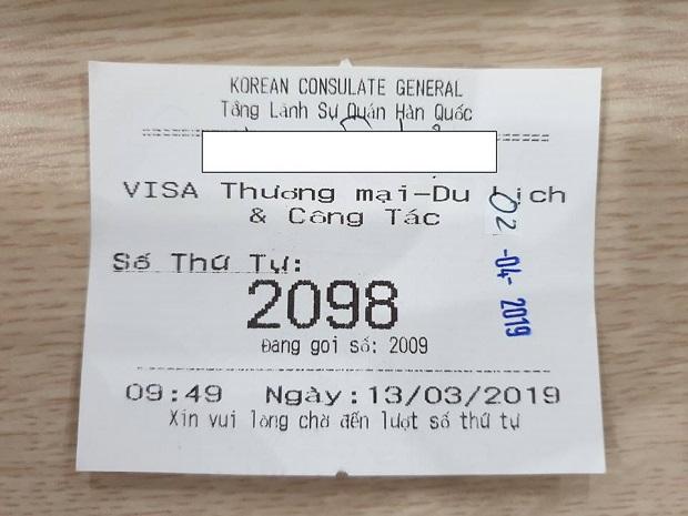 làm visa Hàn Quốc 5 năm