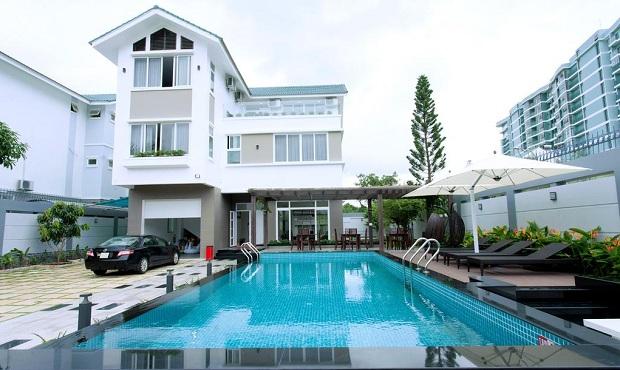 Khách sạn Huyen Sam Villa có chỗ nấu ăn