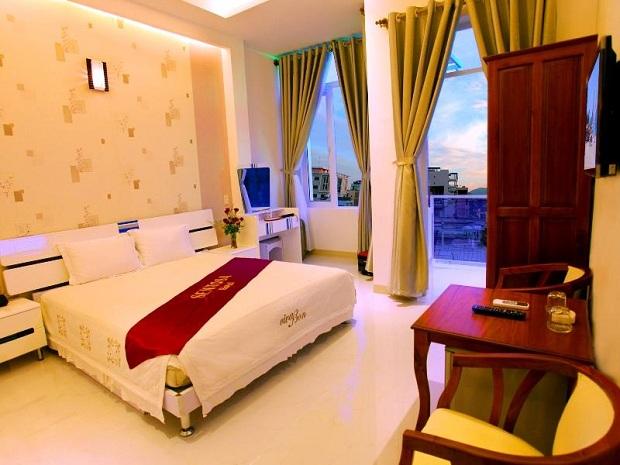 Khách sạn Sentosa Hotel Nha Trang trên đường Hoàng Hoa Thám