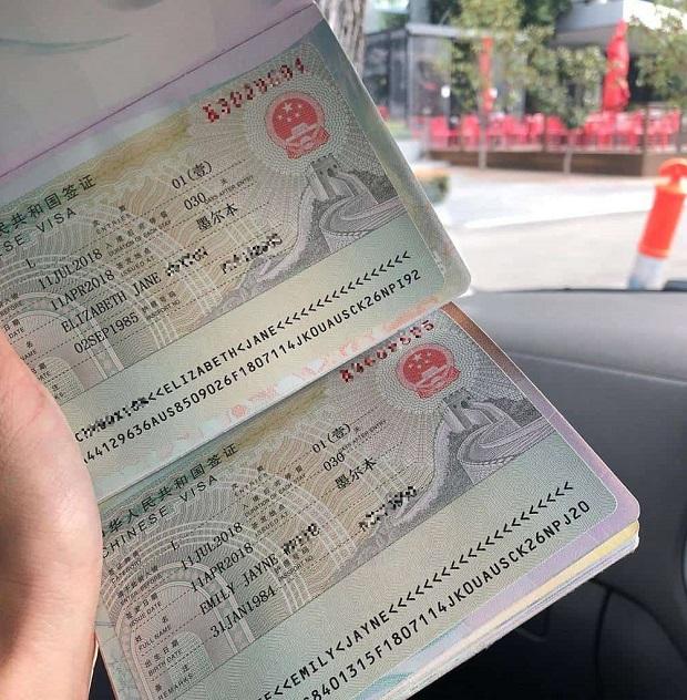 Thủ tục xin visa Trung Quốc lần đầu