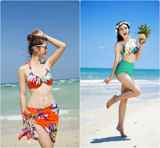 Thời trang Áo tắm đi du lịch biển Đà Nẵng
