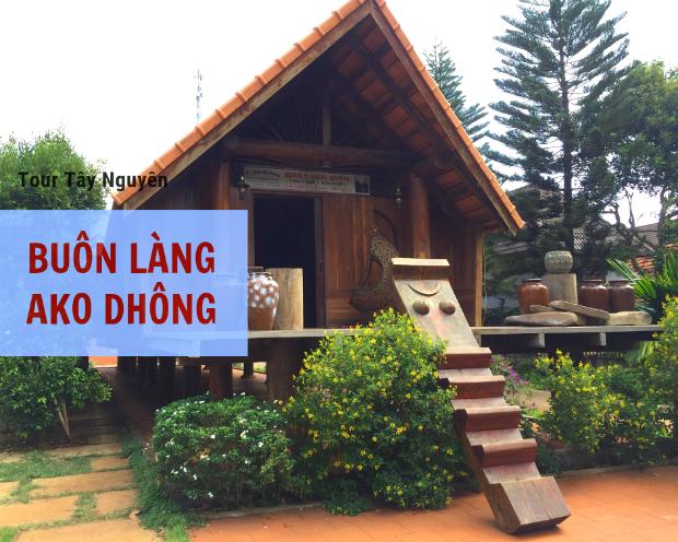 Buôn làng Ako Dhông