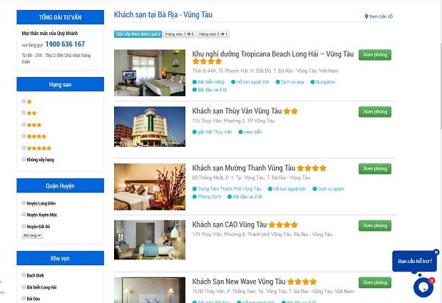 cách thuê phòng khách sạn trực tuyến