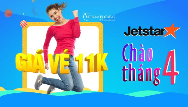 Chào tháng 4 với loạt vé Jetstar Pacific siêu rẻ chỉ từ 11,000đ