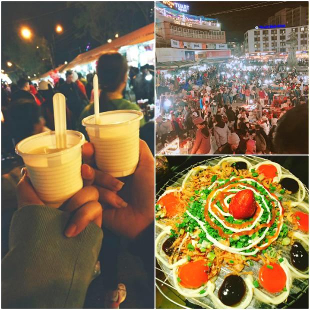 Chợ đêm Đà Lạt - địa điểm du lịch đà lạt đẹp