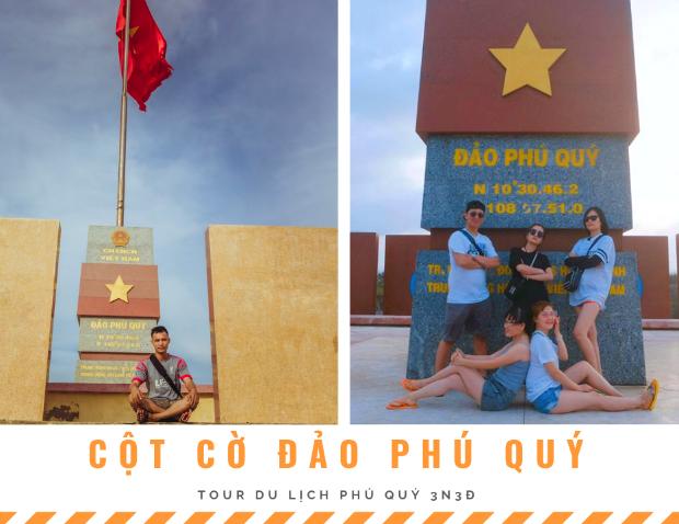 cột cờ đảo Phú Quý
