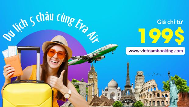Hãng hàng không EVA Air khuyến mãi