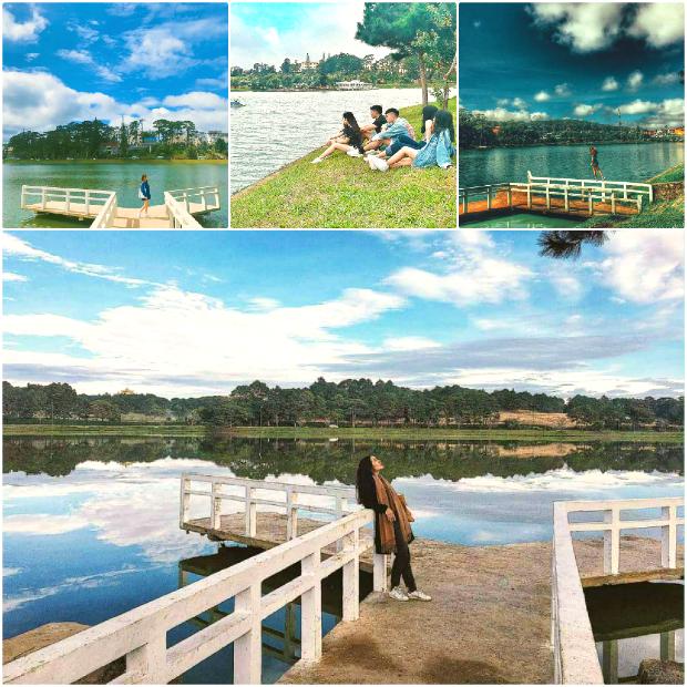 Hồ Xuân Hương - các điểm tham quan du lịch đà lạt