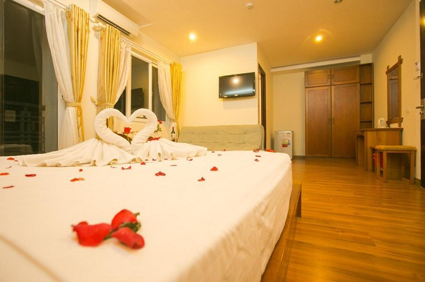 Khách sạn Hoàng Hà Trên đường Hoàng Hoa Thám Nha Trang