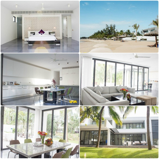 Khách sạn ViVa Villa Sanctuary HồTràm Vũng Tàu cho nấu ăn