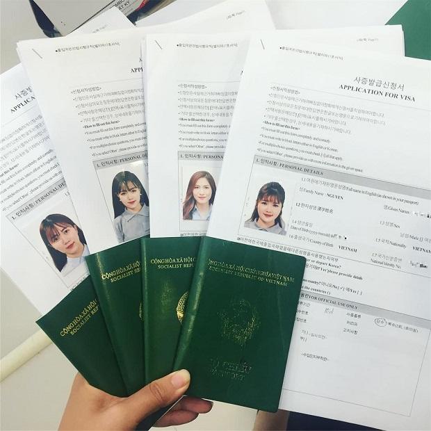 Sinh viên xin visa du lịch Hàn Quốc