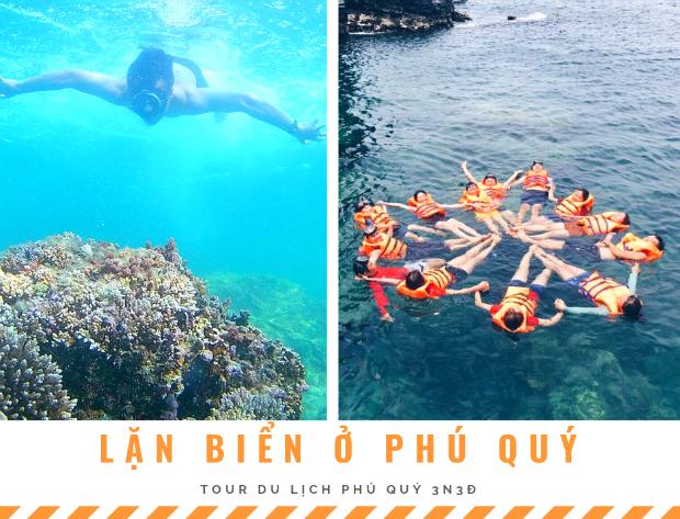 lặn biển ở Phú Quý