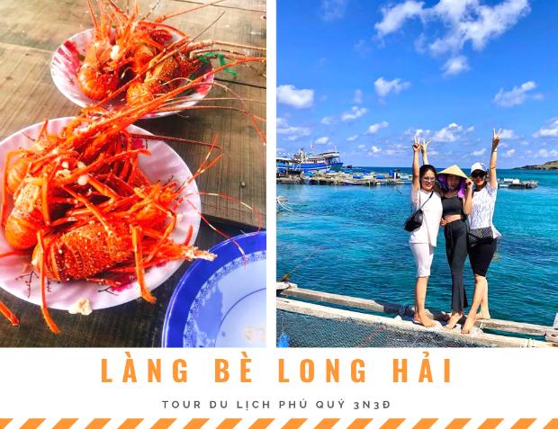 làng bè Long Hải đảo Phú Quý