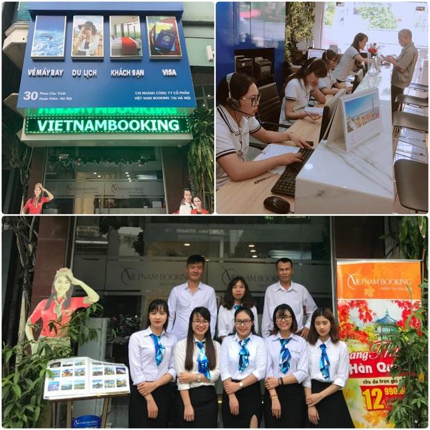 Mua vé máy bay Hà Nội đi Nha trang tại văn phòng Vietnam Booking tại Hà Nội