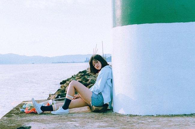 Quần Short jean trang phục đi du lịch Đà Nẵng