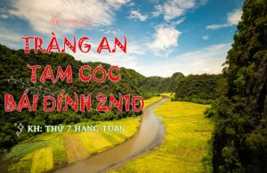"""Tour Tràng An – Tam Cốc – Bái Đính – Hoa Lư 2 ngày 1 đêm   Thưởng ngoạn vẻ đẹp """"Hạ Long trên cạn"""""""