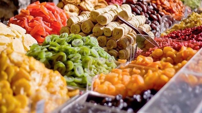 Trái cây sấy đặc sản Đà Lạt- Chợ đà lạt về đêm