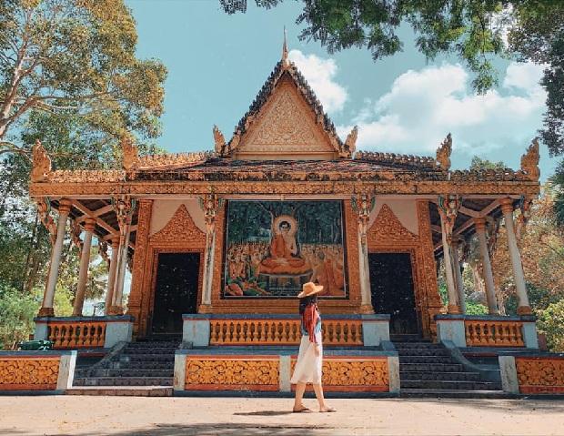 Chùa Dơi Sóc Trăng  tour du lịch đồng bằng sông Mekong