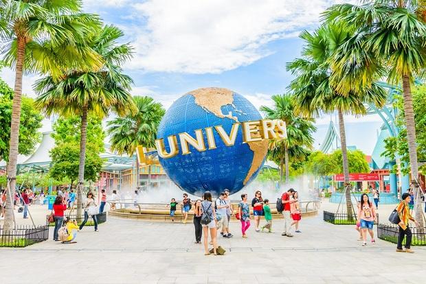 Đảo Sentosa Universal Studio Tour du lịch Singapore - Malaysia 5 ngày 4 đêm