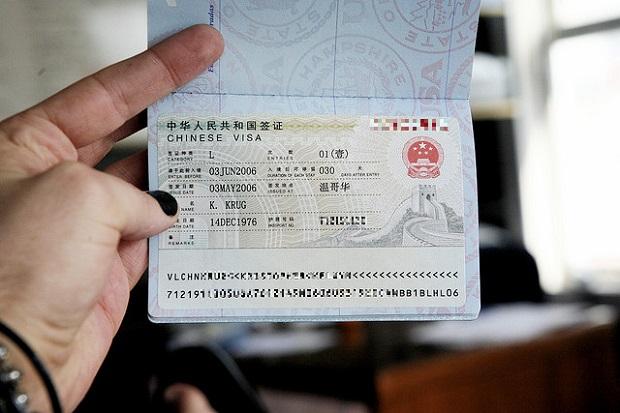 Di du lich Trung Quoc co can xin visa khong