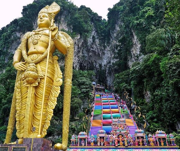 Động Batu Malaysia Tour du lịch Singapore - Malaysia 5 ngày 4 đêm