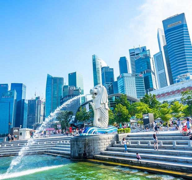 Công viên Merlion Tour du lịch Singapore - Malaysia 5 ngày 4 đêm
