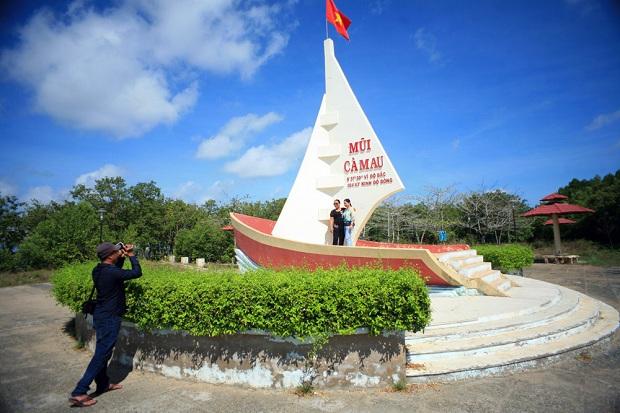 Mũi Cà Mau  tour du lịch đồng bằng sông Mekong