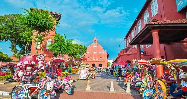 Thành phố Malacca Tour du lịch Singapore - Malaysia 5 ngày 4 đêm
