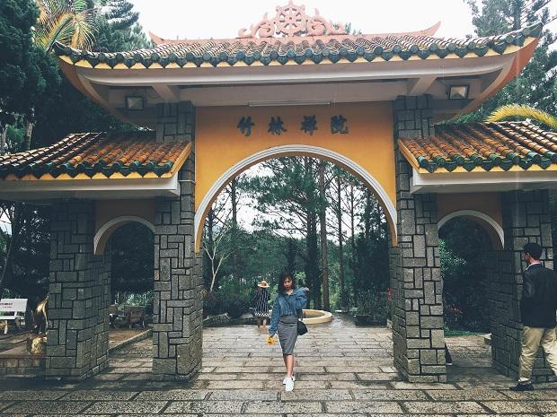 Thiền Viện Trúc Lâm Tour du lịch Đà Lạt khởi hành từ Đà Nẵng