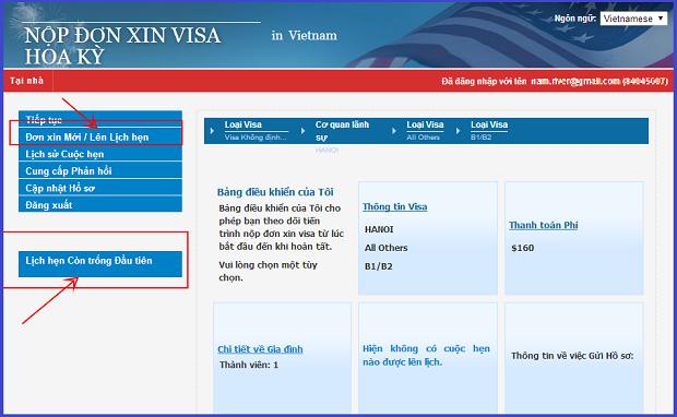 Xin visa online di my