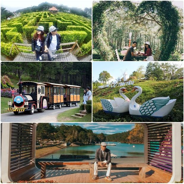 Thung lũng Tình Yêu địa điểm nổi tiếng - City tour Đà Lạt 1 ngày