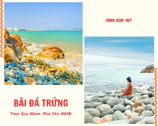 Bãi Đá Trứng - Tour du lịch Quy Nhơn