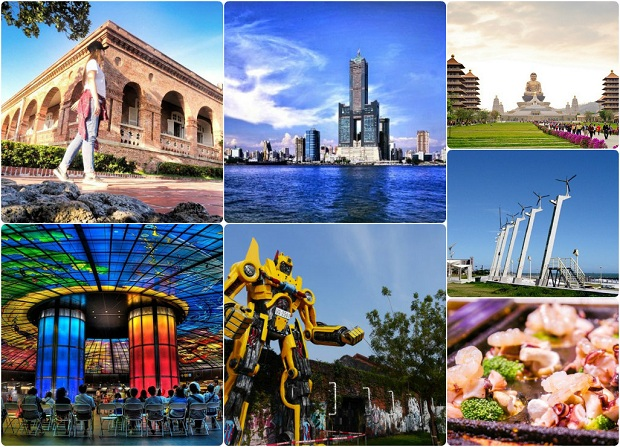 Điểm đến nổi tiếng Cao Hùng  | Chặng bay Đà Nẵng Cao Hùng Jetstar
