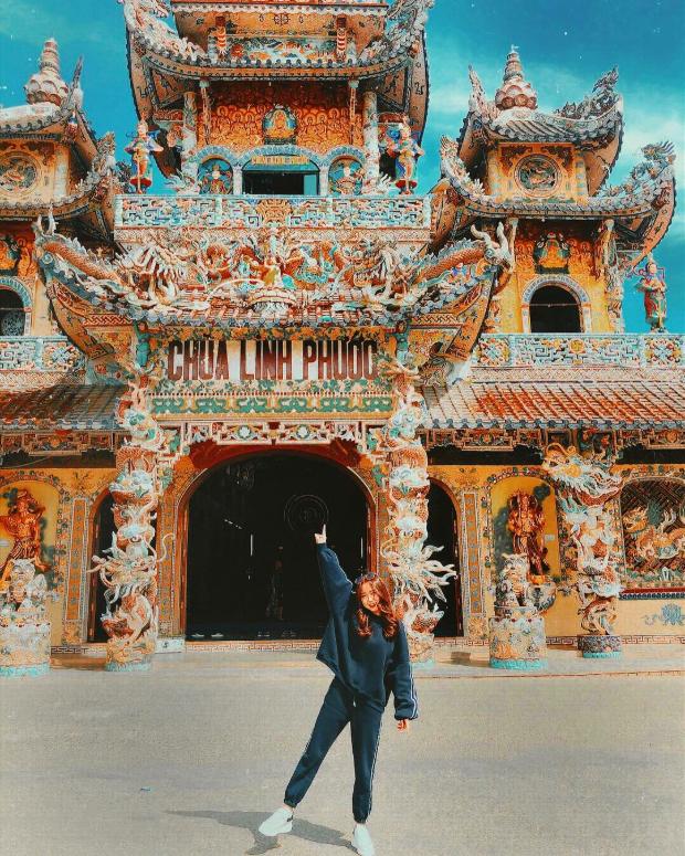 Chùa Linh Phước - tour Huế Đà Lạt