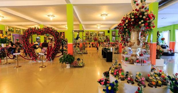 Đi city tour ghé showroom hoa khô Đà Lạt
