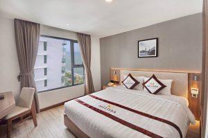 Combo 3N2D Vé máy bay + khách sạn 4 sao Melissa Nha Trang