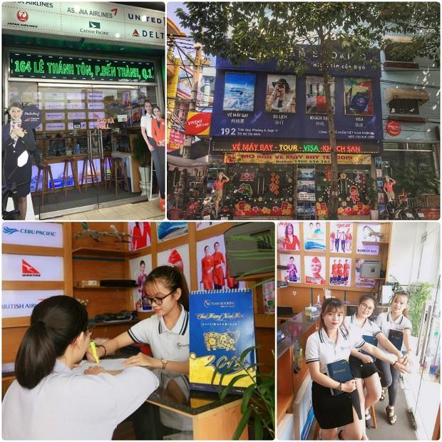 Đại lý Vietnam Booking tại Sài Gòn