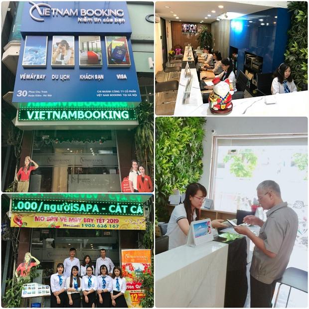 Văn phòng vé máy bay Hà Nội - Vietnam Booking