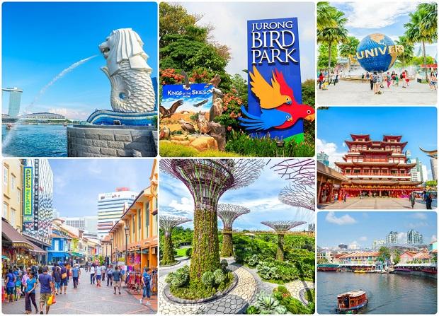 Đặt vé máy bay đi Singapore tham quan du lịch