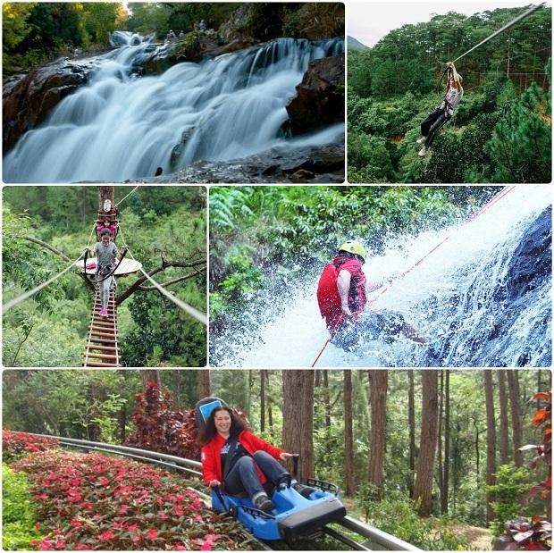 Đi du lịch Đà Lạt ghé thác Dalanta 1 ngày