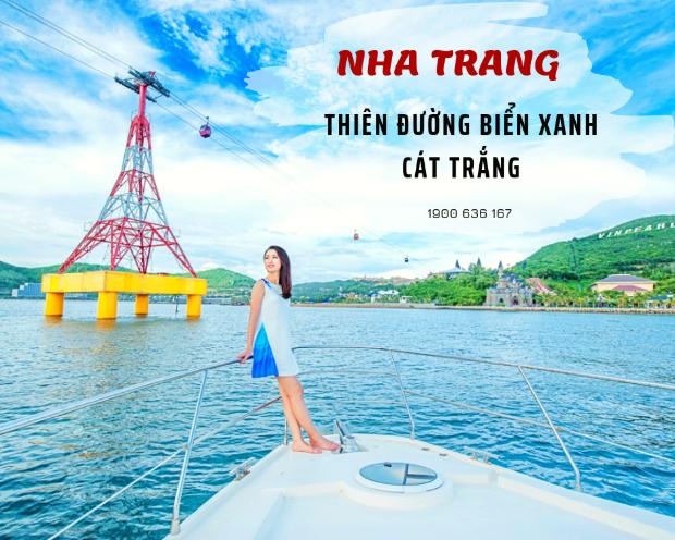 Nha Trang - tour du lịch khởi hành từ Hà Nội