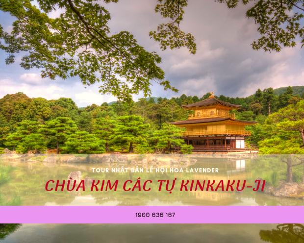 Kim Các Tự Kinkaku-ji - Tour du lịch Nhật Bản từ Đà Nẵng