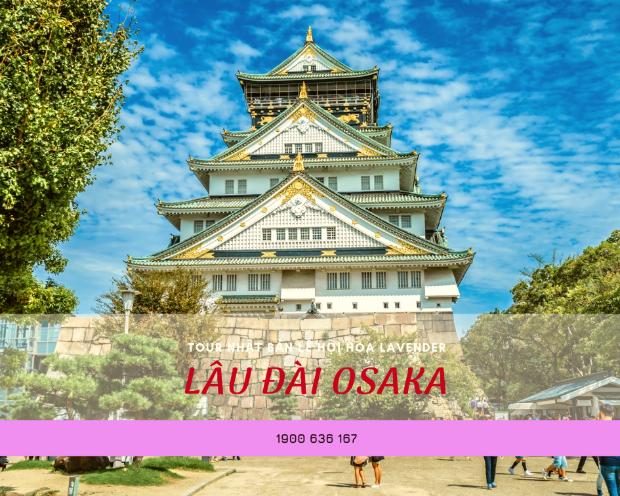 Lâu đài Osaka - Tour du lịch Nhật Bản từ Đà Nẵng