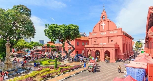 Quảng trường Hà Lan Malaysia | Tour du lịch Malaysia Singapore 4 ngày 3 đêm