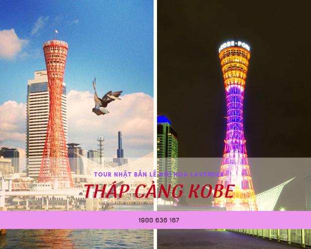 Tháp cảng Kobe - Tour Nhật Bản 5N5Đ